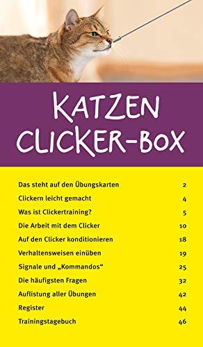 Katzen-Clicker-Box: Plus Clicker für  sofortigen Spielspaß (GU Tier-Box) - 4