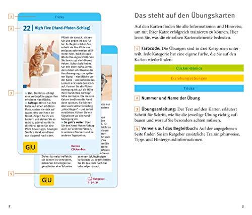Katzen-Clicker-Box: Plus Clicker für  sofortigen Spielspaß (GU Tier-Box) - 5