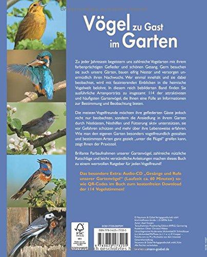Vögel zu Gast im Garten: Beobachten, bestimmen, schützen (inkl. CD) - 4