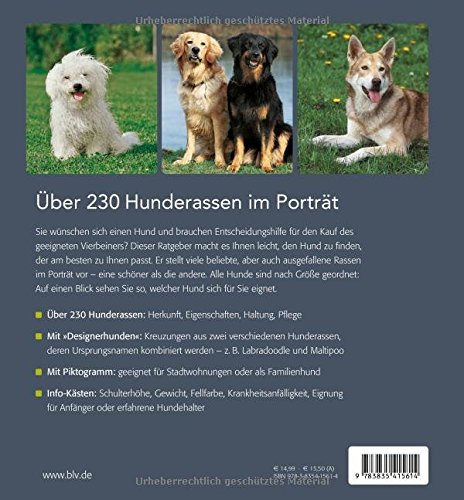 Der große BLV Hunderassen-Führer: Aussehen – Eigenschaften – Haltung - 2