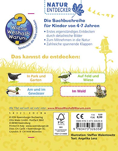 Vögel (Wieso? Weshalb? Warum? Natur-Entdecker) - 2