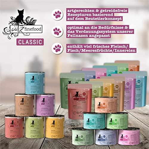 Catz finefood Katzenfutter Multipack Pouches 2 12 x 85g, 1er Pack (1 x 1.02 kg) - 4
