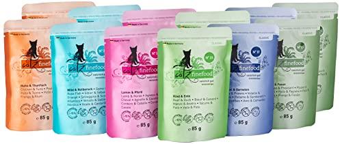 Catz finefood Katzenfutter Multipack Pouches 2 12 x 85g, 1er Pack (1 x 1.02 kg) - 8