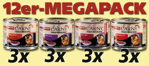 Animonda Carny 83348 Adult Mix1 12 x 200 g - Katzenfutter