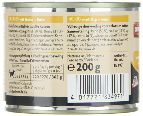 Animonda Carny 83349 Adult Mix2 12 x 200 g – Katzenfutter - 3