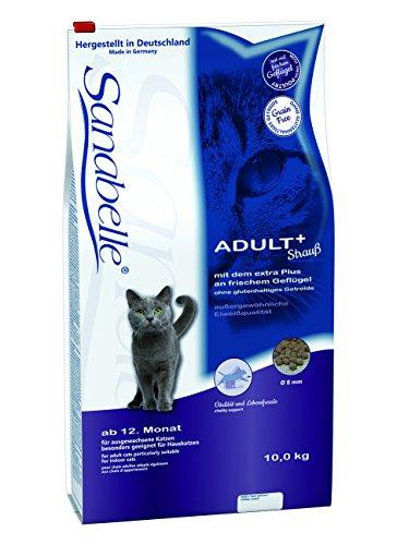 Sanabelle Adult Strauß Katzenfutter, 1er Pack (1 x 10 kg)