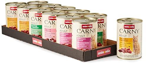 Animonda Carny Adult Mix2 - Katzenfutter, 12 x 400g