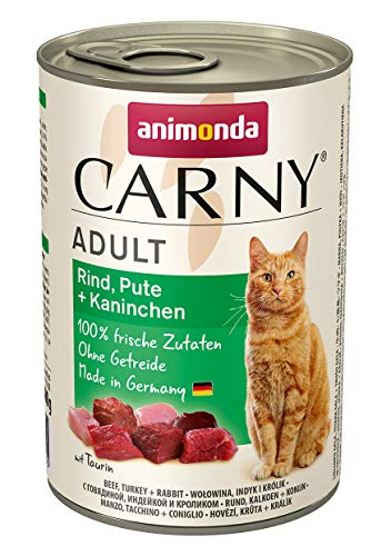 Animonda Carny Adult Mix2 – Katzenfutter, 12 x 400g - 3