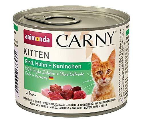 Animonda Carny Kitten Mix1 – Katzenfutter, 12 x 200 g - 2
