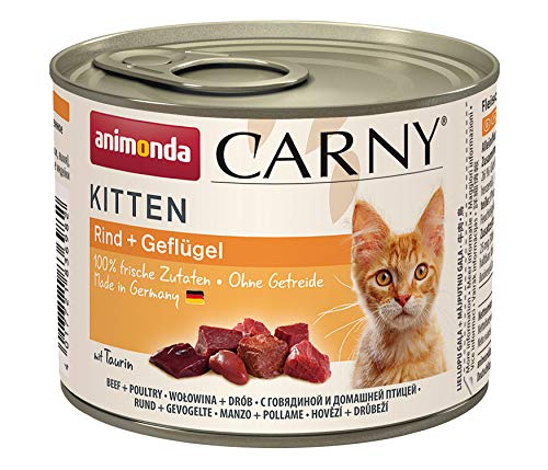 Animonda Carny Kitten Mix1 – Katzenfutter, 12 x 200 g - 4