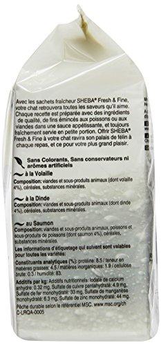 Sheba Fresh & Fine Katzenfutter Feine Vielfalt, 72 Beutel (72 x 50 g) - 3