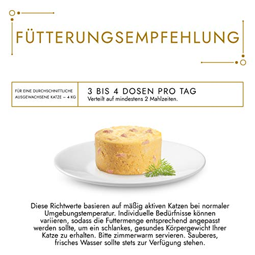 Gourmet Gold Katzenfutter Souffle mit Huhn, 12er Pack (12 x 85 g) Dosen - 4