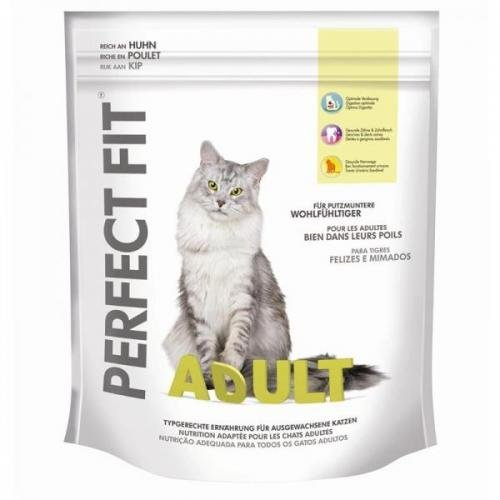 Perfect Fit Cat Adult reich an Huhn 750 g, Katzenfutter, Trockenfutter