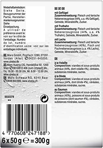 Sheba Fresh & Fine Katzenfutter Feine Vielfalt, 72 Beutel (72 x 50 g) - 2