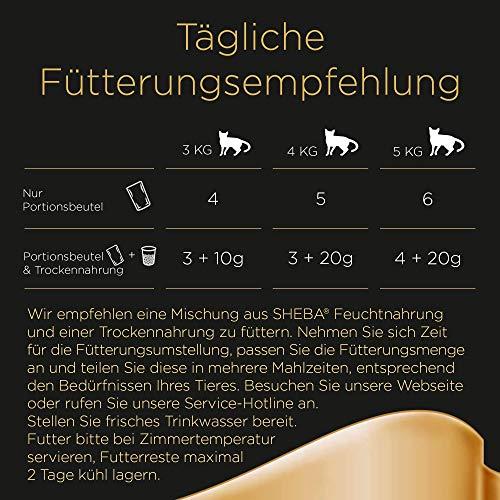 Sheba Fresh & Fine Katzenfutter Feine Vielfalt, 72 Beutel (72 x 50 g) - 4