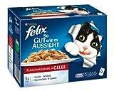 Felix So gut wie es aussieht Fleisch Mix 12 x 100 g Katzenfutter von Purina
