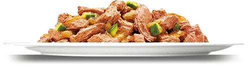 Felix So gut wie es aussieht Katzenfutter Fleisch und Fisch Mix mit Gemüse, 6er Pack (6 x 12 x 100 g) Beutel - 6