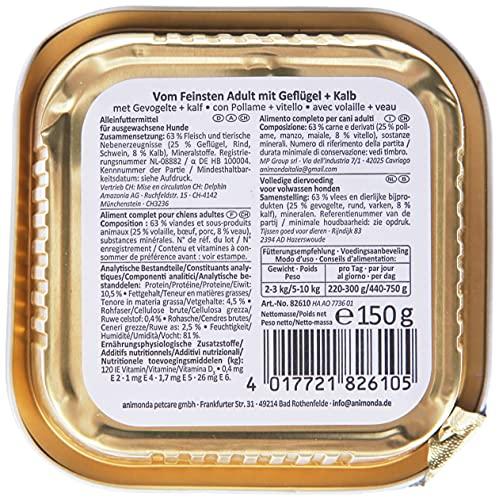 Animonda Vom Feinsten Adult Mix1 22 x 150 g Schale - 2