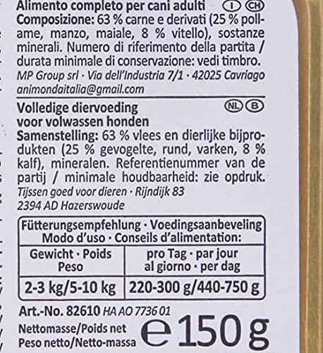 Animonda Vom Feinsten Adult Mix1 22 x 150 g Schale - 4