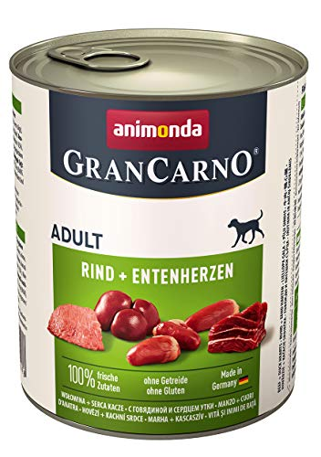 Animonda Gran Carno Hundefutter Adult Probierpack Adult Mix 2 (6 x 800 g) - 5