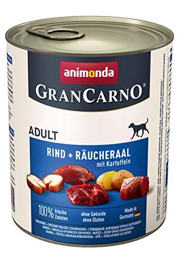 Animonda Gran Carno Hundefutter Adult Probierpack Adult Mix 2 (6 x 800 g) - 6