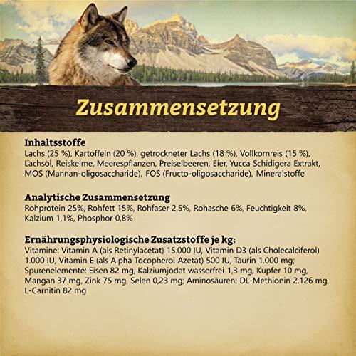 Wolfsblut Wolfsblut Hunde Trockenfutter Alaska Salmon Lachs & Reis 15 kg - 2