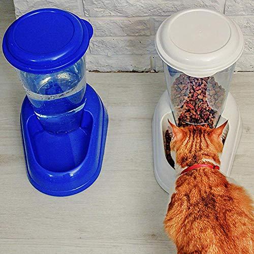 Ferplast 71970099W1 Futterspender ZENITH, für Katzen und Hunde, 3 Liter, weiss - 7
