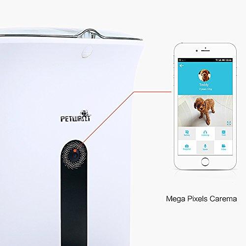 GemPet Automatic pet feeder PT-103 automatische Haustier Zufuhr mit Ihrem iPhone, Andriod oder andere intelligente Geräte gesteuert - 2