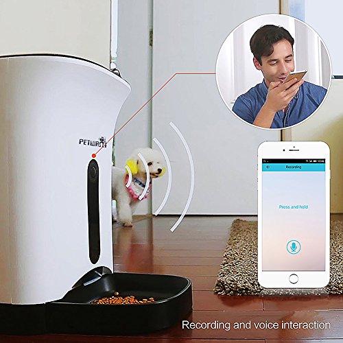 GemPet Automatic pet feeder PT-103 automatische Haustier Zufuhr mit Ihrem iPhone, Andriod oder andere intelligente Geräte gesteuert - 4