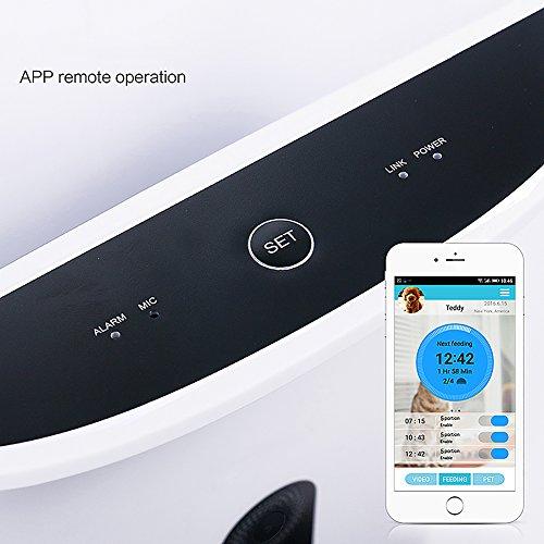GemPet Automatic pet feeder PT-103 automatische Haustier Zufuhr mit Ihrem iPhone, Andriod oder andere intelligente Geräte gesteuert - 6
