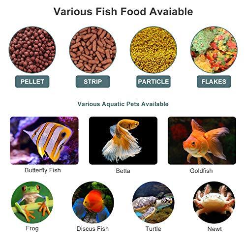 Lychee Fish Feeder Futterautomat AF-2009D – digital mit LCD-Anzeige - 6