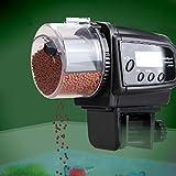 Liqoo® Aquarium Fisch Futterautomat Fischfutterautomat Fischfutter Automat Automatisierte Futterspender mit LCD-Display und Zeitschaltuhr - 2