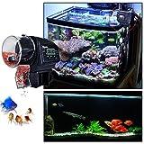 Liqoo® Aquarium Fisch Futterautomat Fischfutterautomat Fischfutter Automat Automatisierte Futterspender mit LCD-Display und Zeitschaltuhr - 3