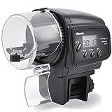 Liqoo® Aquarium Fisch Futterautomat Fischfutterautomat Fischfutter Automat Automatisierte Futterspender mit LCD-Display und Zeitschaltuhr - 4