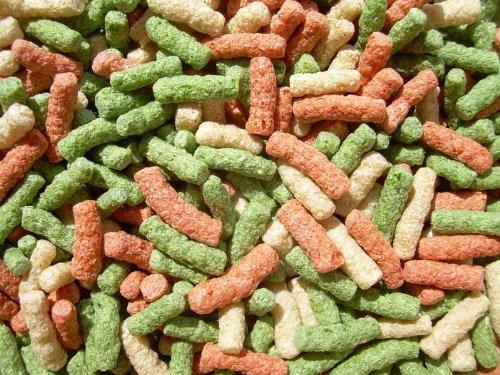 Premium Teichsticks Bunt 20000 ml, Fischfutter, Teichfutter