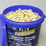 JBL 40296 Hauptfutter Mix für alle Teichfische, Futterflocken, Sticks, Krebstiere PondVario, 1er Pack (1 x 5.5 l) - 3