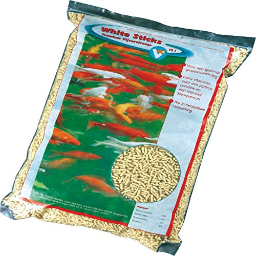 Fischfutter White Sticks Premium 15L