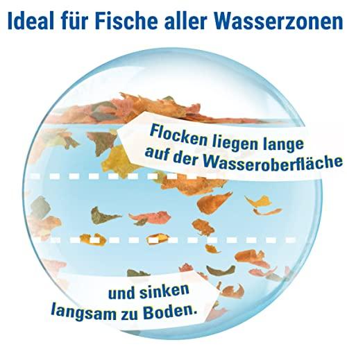TetraMin (Hauptfutter für alle Zierfische in Flockenform, für ein langes und gesundes Fischleben und klares Wasser, plus Präbiotika für verbesserte Körperfunktionen und Futterverwertung), 1 Liter Dose - 5