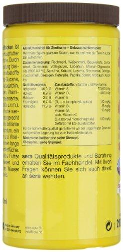 sera 00175 vipan Großflocken 1000 ml –  der Klassiker – Hauptfutter für alle Zierfische in Gesellschaftsaquarien, Flockenfutter, für schönere und größere Fische - 9