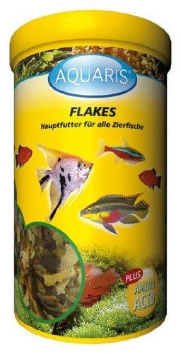 AQUARIS FLAKES - AQUARIUM FISCHFUTTER - 1 LITER