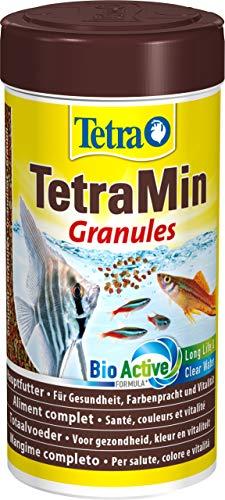 TetraMin Granules (Hauptfutter in Granulatform für alle kleinen Zierfische wie z.B. Salmler und Barben), 250 ml Dose