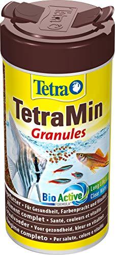 TetraMin Granules (Hauptfutter in Granulatform für alle kleinen Zierfische wie z.B. Salmler und Barben), 250 ml Dose - 2