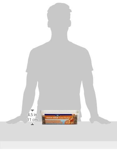 Söll 14700 Teich-Gold Futter-Flocken – Alleinfuttermittel für alle Teichfische – schwimmfähige Teichflocken – 3l - 3