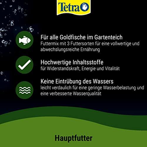 Tetra Pond Goldfish Mix Premium Hauptfutter (Futtermix aus besten Flocken), 10 Liter Eimer - 5