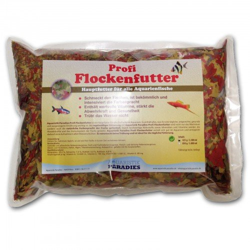 Aquaristik-Paradies Flockenfutter Fischfutter 2.500 ml