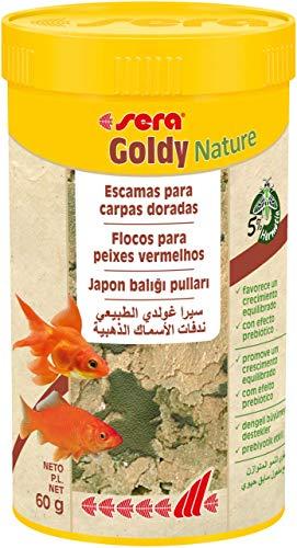 sera 00850 goldy 250 ml das Flockenfutter für kleinere Goldfische und andere Kaltwasserfische