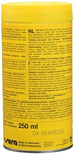 sera 00250 san  250 ml – das Farbfutter aus schwimmenden Flocken - 10