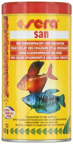 sera 00250 san  250 ml – das Farbfutter aus schwimmenden Flocken - 5