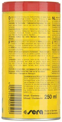 sera 00250 san  250 ml – das Farbfutter aus schwimmenden Flocken - 3