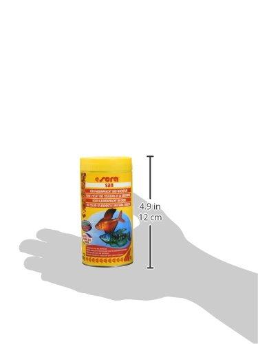 sera 00250 san  250 ml – das Farbfutter aus schwimmenden Flocken - 7